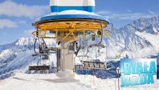 Słońce, śnieg i ciepło. Alpy w piątek