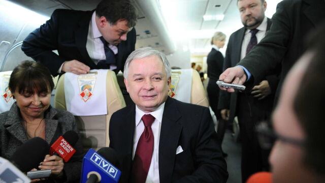 Lech Kaczyński nie chce z Rosją prowadzić gry w
