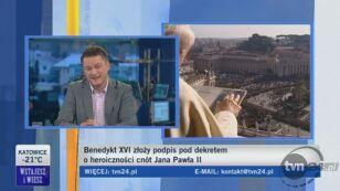 Marek Skwarnicki, przyjaciel Jana Pawła II (TVN24)