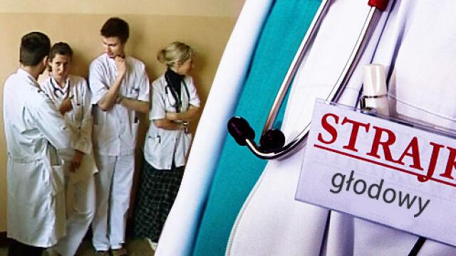 Kilkudziesięciu lekarzy na Śląsku głoduje