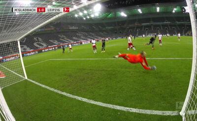 Skrót meczu Borussia Moenchengladbach - RB Lipsk w 6. kolejce Bundesligi