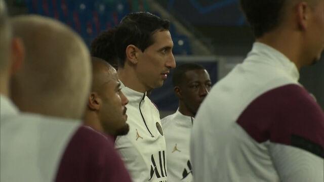 Trening PSG przed meczem z RB Lipsk