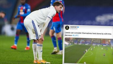 Niezrozumiałe anulowanie gola w Anglii.