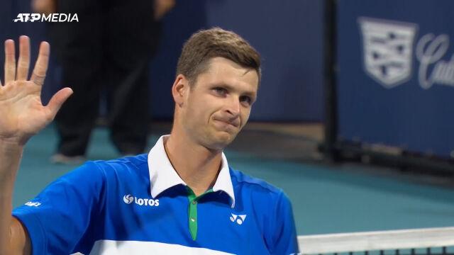 Hurkacz awansował do finału turnieju ATP w Miami