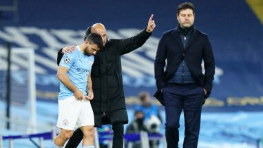 Wzruszony Guardiola pożegnał Aguero.