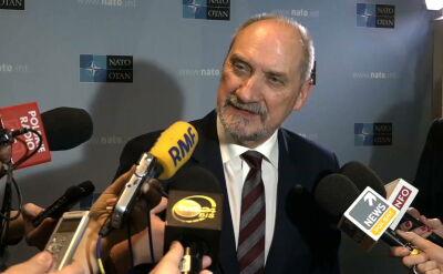 Macierewicz: najwyższy czas, by NATO włączyło się w wyjaśnianie katastrofy smoleńskiej