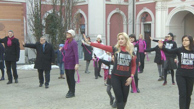 Zatańczyli przeciwko przemocy wobec kobiet