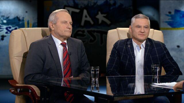 gen. Stanisław Koziej i płk Leszek Baran w Tak Jest