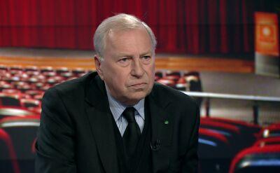 Jerzy Stuhr: nie jestem w stanie politykowi uwierzyć