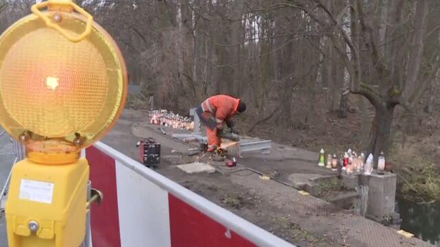 Po tragicznej śmierci nastolatków zamontowano brakujące barierki. Są wyniki sekcji zwłok
