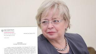 Gersdorf: wzywam sędziów Izby Dyscyplinarnej do powstrzymania się od orzekania