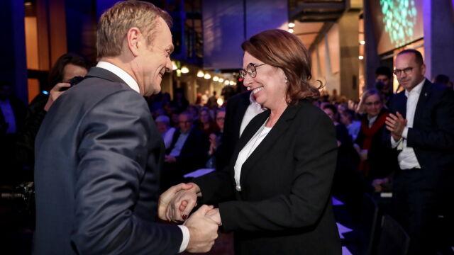 Tusk: Kidawa-Błońska ma naturalne zdolności wykraczania poza partyjny elektorat