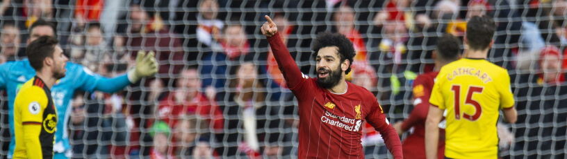 Kat Salah. Liverpool mknie jak oszalały