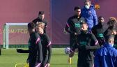 Messi trenował z Barceloną
