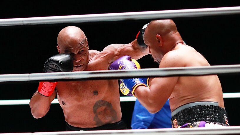 """Bez nokautu w walce Tyson - Roy Jones Jr. """"Może powinniśmy to powtórzyć?"""""""