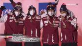 Polacy odebrali brązowe medale za konkurs drużynowy w MŚ