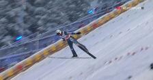 Skok Żyły z 1. serii konkursu na skoczni dużej w MŚ