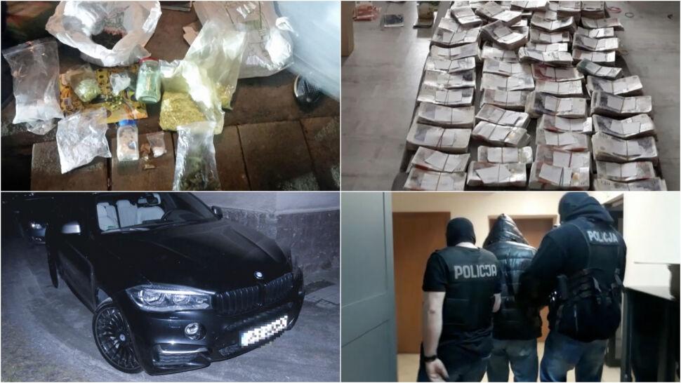 W domach mieli ponad trzy miliony w różnych walutach, są podejrzani o handel narkotykami