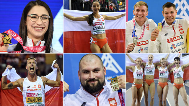 Polacy wygrali klasyfikację medalową. Siedem momentów halowych mistrzostw Europy
