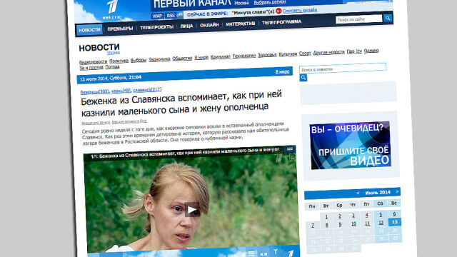 """Trzylatek ukrzyżowany w Słowiańsku na oczach matki? """"Łajdacy z Kremla gotowi przewyższyć Goebbelsa"""""""