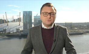 """Korespondent """"Faktów"""" TVN po katastrofie w Leicester"""