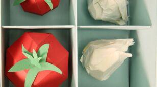 Papierowe jedzenie