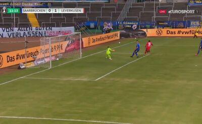Puchar Niemiec. Saarbruecken - Bayer. Moussa Diaby (0:1)
