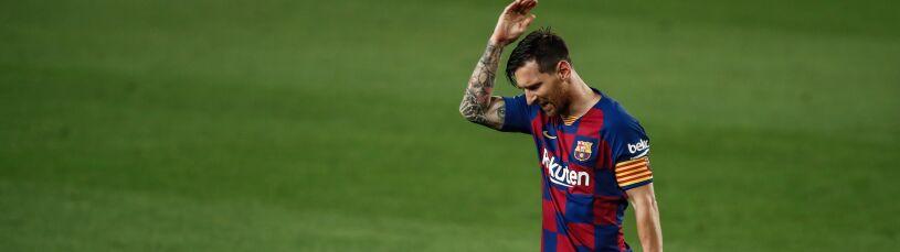 Messi nie wytrzymał.