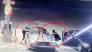 Jednym skokiem ocaliła auto przed złodziejem
