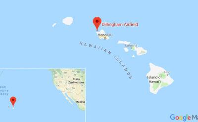 Do katastrofy smolotu doszło na wyspie O'ahu
