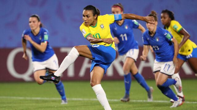 Marta skuteczniejsza od Klosego. Brazylia i Australia w 1/8 finału kobiecego mundialu