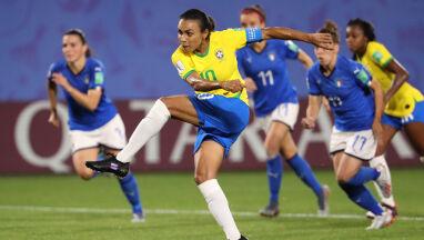 Marta skuteczniejsza od Klosego. W 1/8 finału MŚ Brazylia i Australia