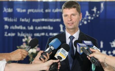 Minister Piontkowski o podwójnym roczniku w szkołach średnich