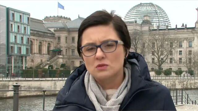 Relacja reporterki TVN24 z Berlina