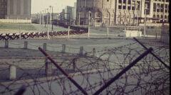 Pas graniczny na Potsdamer Platz po wschodniej stronie Berlina