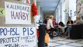 Liczenie kosztów po proteście osób niepełnosprawnych w Sejmie