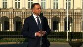 Andrzej Duda: Awans szefa BOR po katastrofie odczytałem jako szyderstwo