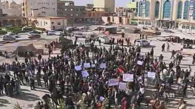 Demonstracje w Tobruku