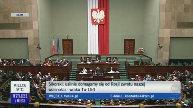 Radosław Sikorski o stosunkach z USA (TVN24)