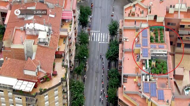Telewizyjny helikopter namierzył plantację marihuany w trakcie etapu Vuelta a Espana