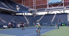 Magiczne uderzenie Zeballosa w półfinale debla US Open