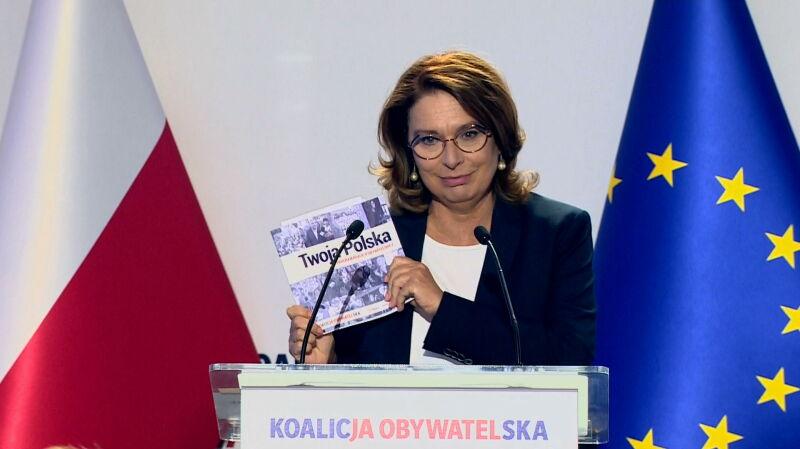 Kidawa-Błońska: chcę, aby polityka stała się sztuką porozumiewania, a nie wiecznej wojny
