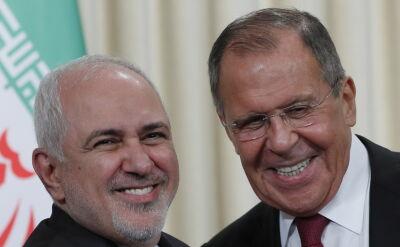 Szef irańskiej dyplomacji w Moskwie