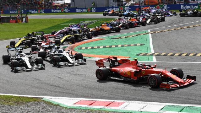 Ferrari wygrało u siebie. Leclerc odjechał Srebrnym Strzałom
