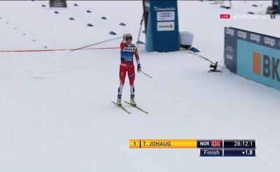 Johaug wygrała bieg na 10 km ze startu wspólnego w Lenzerheide