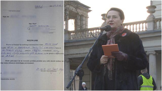"""Żona prezydenta Poznania na strajku kobiet: """"Jestem wk**wiona"""". Właśnie dostała wezwanie na policję"""