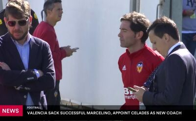 Valencia zwolniła Marcelino