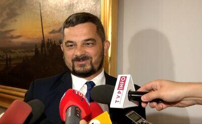 Szef komitetu wykonawczego PiS o plakatach wyborczych Leszka Piechoty
