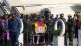 Ciało Mugabego przyleciało do Zimbabwe