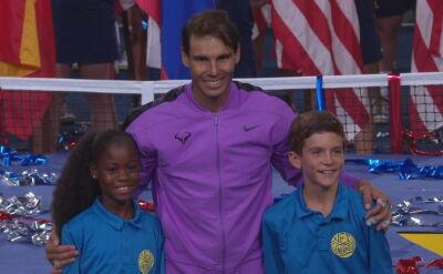 Polski akcent w finale US Open. Syn byłej tenisistki wniósł trofeum